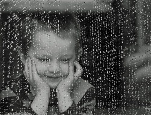 Prečo sa teším, keď vonku prší?