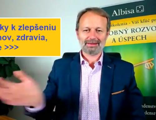 """Video: """"3 kroky k zlepšeniu vzťahov, zdravia, práce""""."""