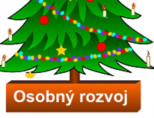 Vianočný darček: Osobný rozvoj so Zľavou 20%.